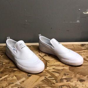 926d10ce4c5 Adidas Matchcourt Slips white leather size 12 NWT